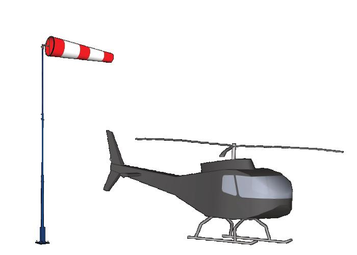 Ветроуказатели вертодромные